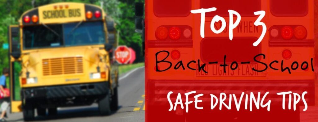 Safe back to school driving