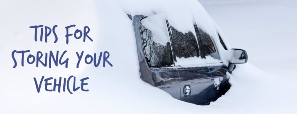 Tips for storing vehicles in winter